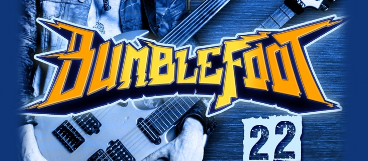 "22 septembrie 2017 - Ron ""Bumblefoot"" Thal"