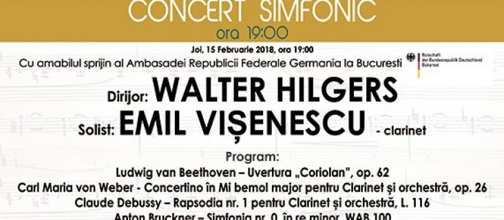 Concert simfonic - 15 februarie 2018