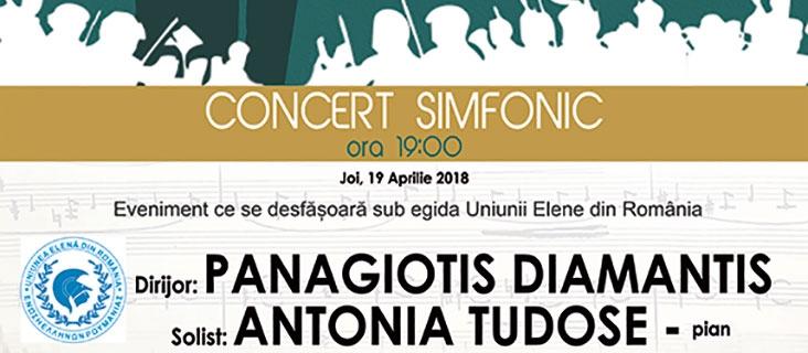 Concert simfonic - 19 aprilie 2018