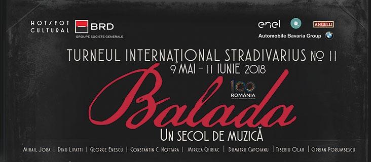 Balada, un secol de muzică - 6 iunie 2018