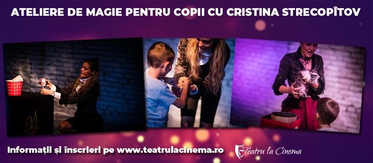 Atelier de magie pentru copii - 25.05.2019 (grupa 5-12 ani)