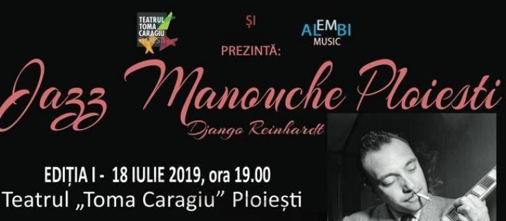 Jazz Manouche Ploiesti Django Reinhardt, editia I