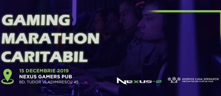 Gaming Marathon Caritabil - editia a II-a