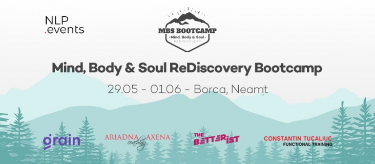 Mind, Body & Soul ReDiscovery Bootcamp 02 - Bootcamp NLP.Events 2020