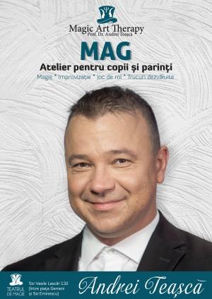 Mag – atelier pentru copii și părinți - Premieră