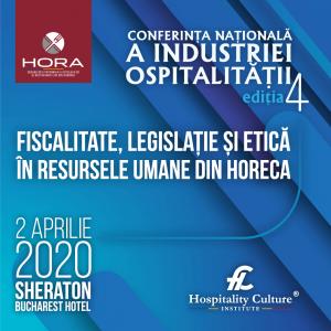 Conferinta Nationala a Industriei Ospitalitatii 2020