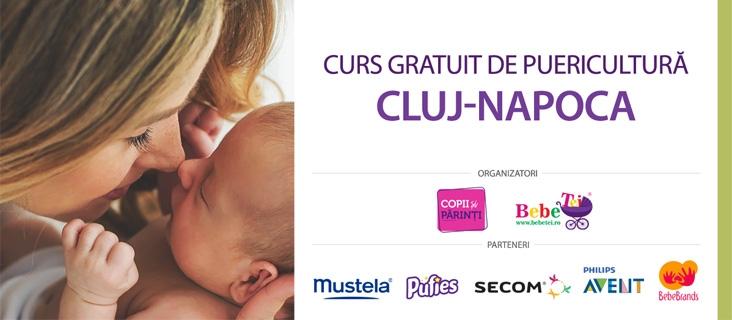 CURS GRATUIT DE PUERICULTURĂ CLUJ NAPOCA - 12 Mar.