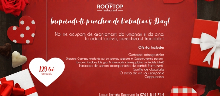 Rooftop Valentine`s Day