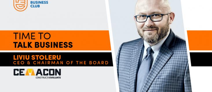 Time To Talk Business. Invitat: Liviu Stoleru (CEMACON)