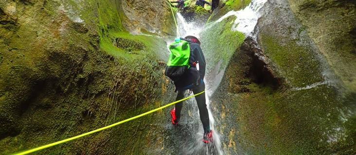 Aventura in Apuseni - Canioning 21.august.2020