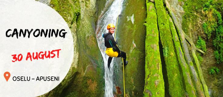 Aventura in Apuseni - Canioning 30.august.2020