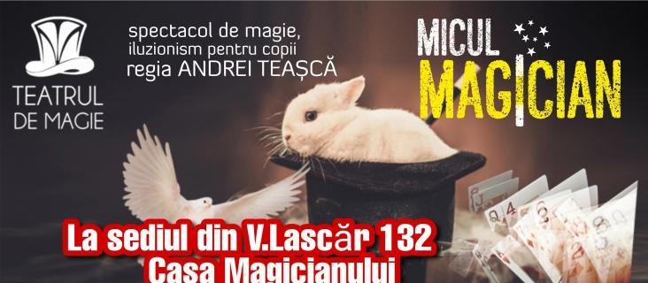 Micul Magician - la Casa Magicianului - ANULAT!