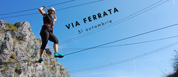 Via ferrata Baia de Fier 31 oct 2020