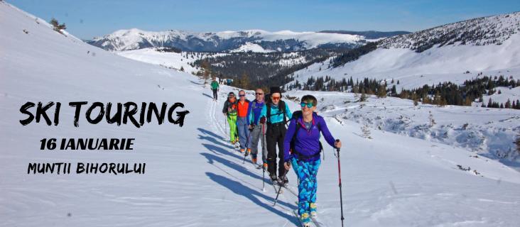 Ski touring & Rachete de zapada - VF Bihor 1849m_16.ian.2021