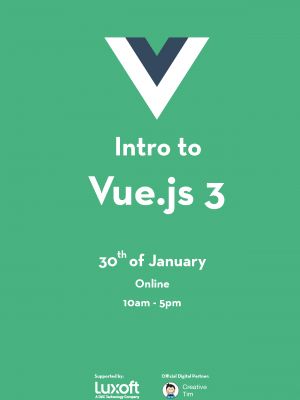 JSLeague - Intro to Vue.js 3 Online Workshop