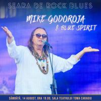 Seara de rock blues - concert Mike Godoroja & Blue Spirit